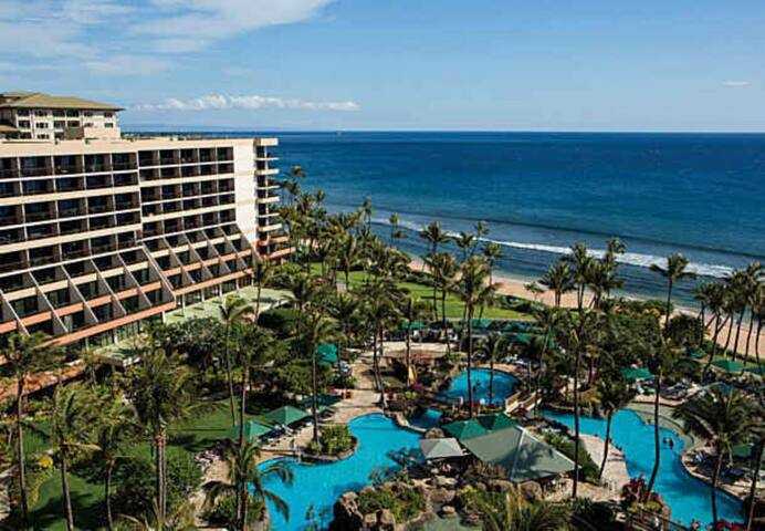 Marriott Maui Ocean Club Beachfront Easter Holiday