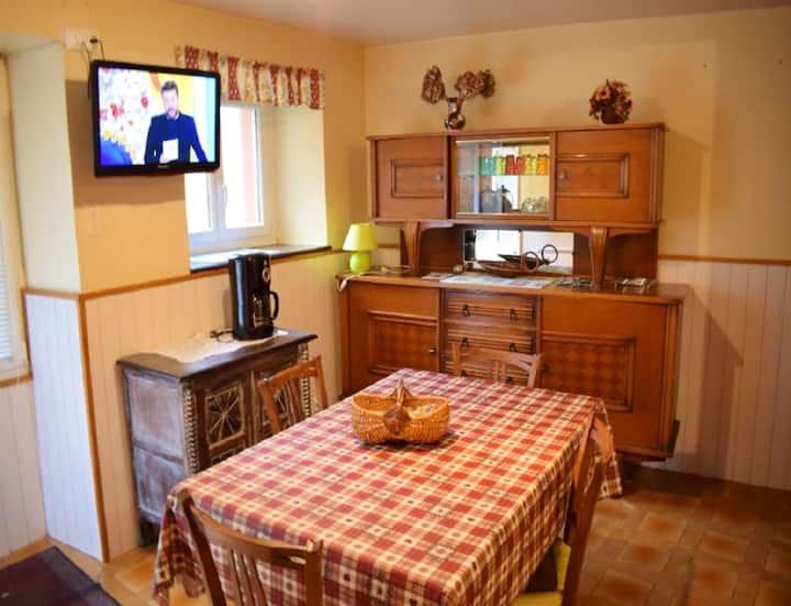 Casa de 2 habitaciones en Betpouey, con magnificas vistas a las montañas y jardín amueblado - a 8 km de las pistas