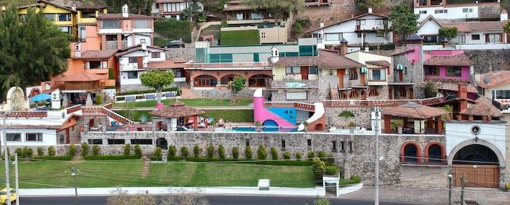Villa Frente al Lago TODO INCLUIDO