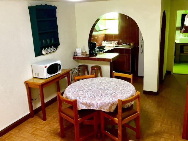 Departamento 2 recámaras 400 - Pachuca de Soto - Appartement