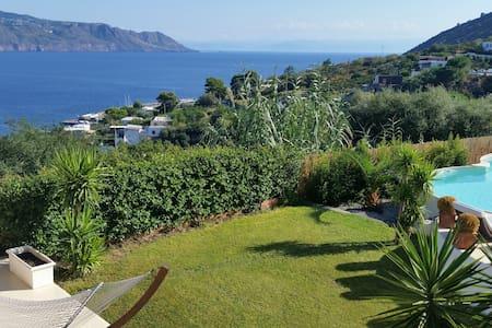 Villa luxury batanà  Santa Marina - Santa Marina Salina - Villa