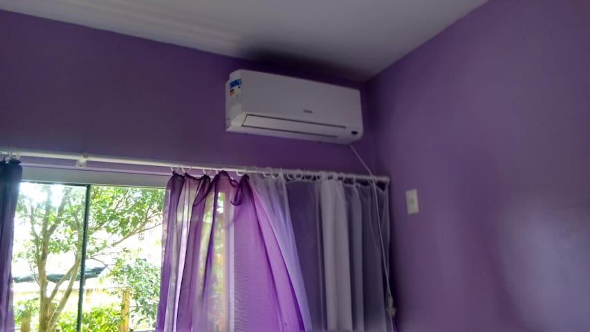 Ar condicionado quarto um