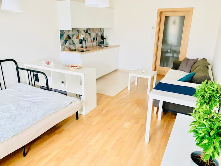 Modern cosy apartment 10mins to Old town