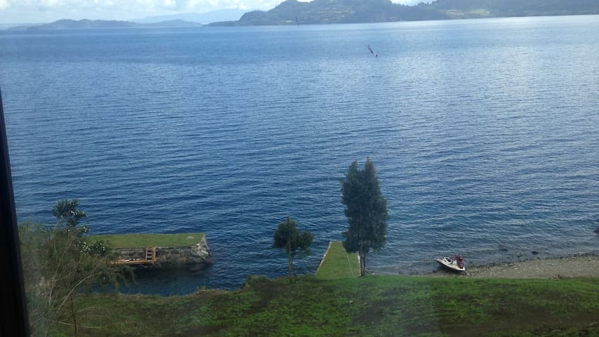 Casa Lago Ranco Pitreño