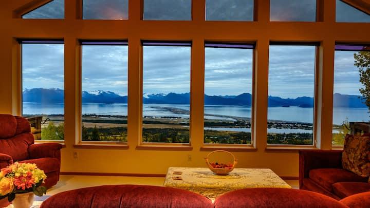 Bayview Vacation Home, Stunning Panoramic View