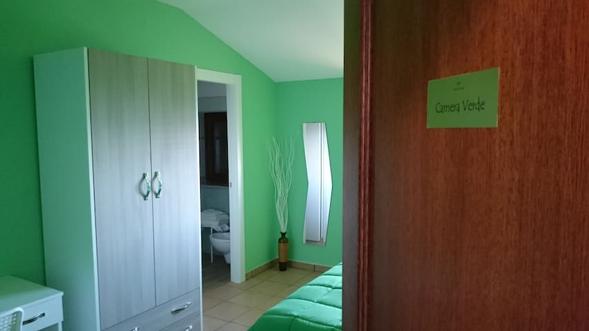 B&B Verde Irpinia-camera matrimoniale - Gesualdo - Bed & Breakfast