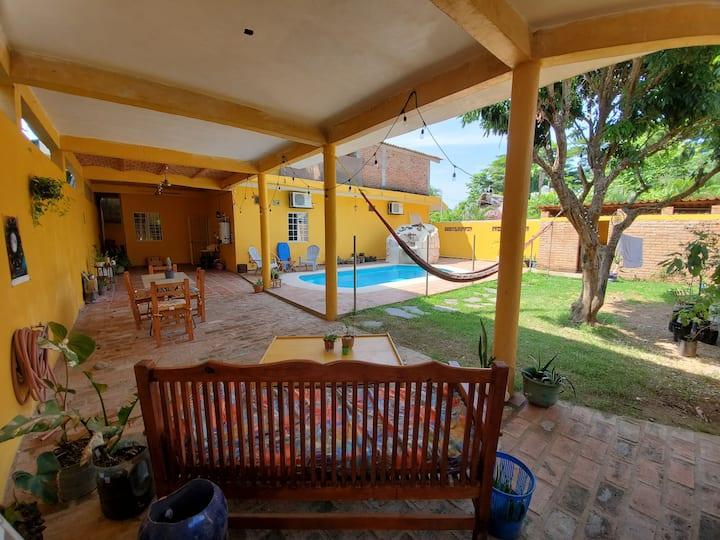 Enjoy the pool while visiting San Pancho
