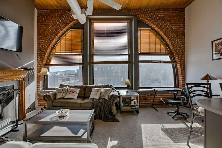 Unique Downtown condo!  An Architects dream home