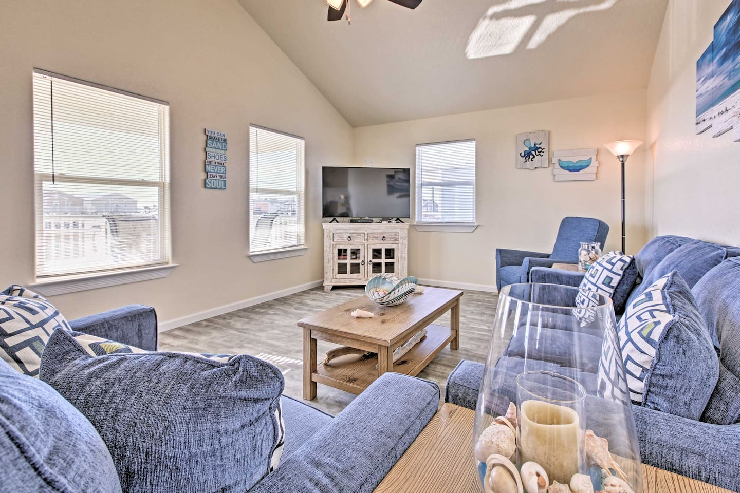 Elevate your Surfside Beach holiday at this 3-bed, 3-bath vacation rental house!