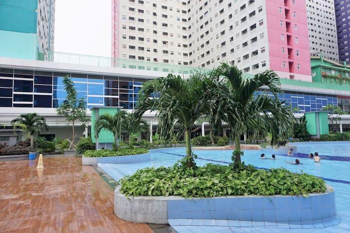 [Free WiFi][Mall] Central Jakarta Green Pramuka P