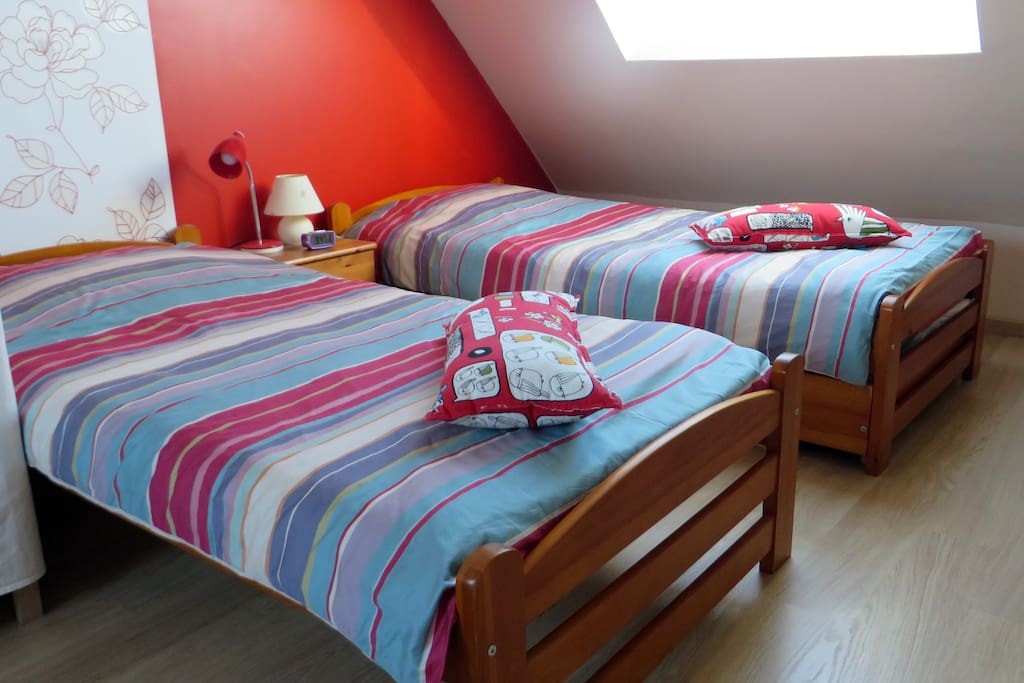 Deux lits 90 x 190
