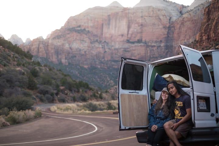 Minimalist Adventure Camper Van/RV