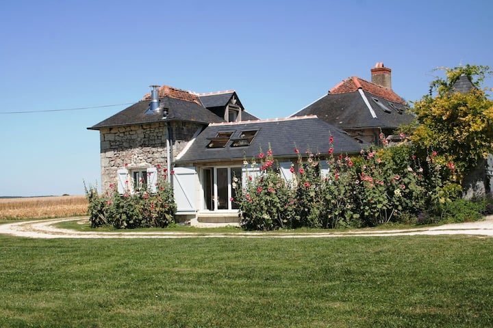 Loire Valley, Le Petit Logis, 1 bedroom & pool