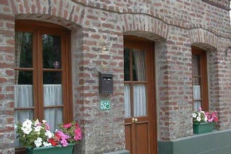 La Bobine, a village cottage. - Aix-en-Issart - Hus