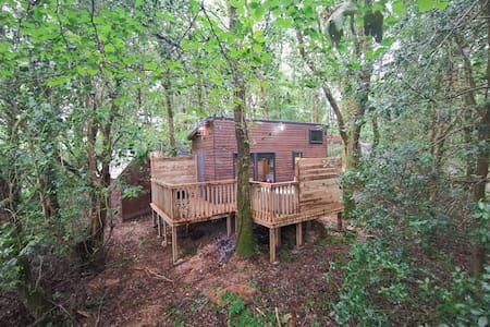 Tiny House-HotTub-St.Clears-Pembrokeshire-Tenby