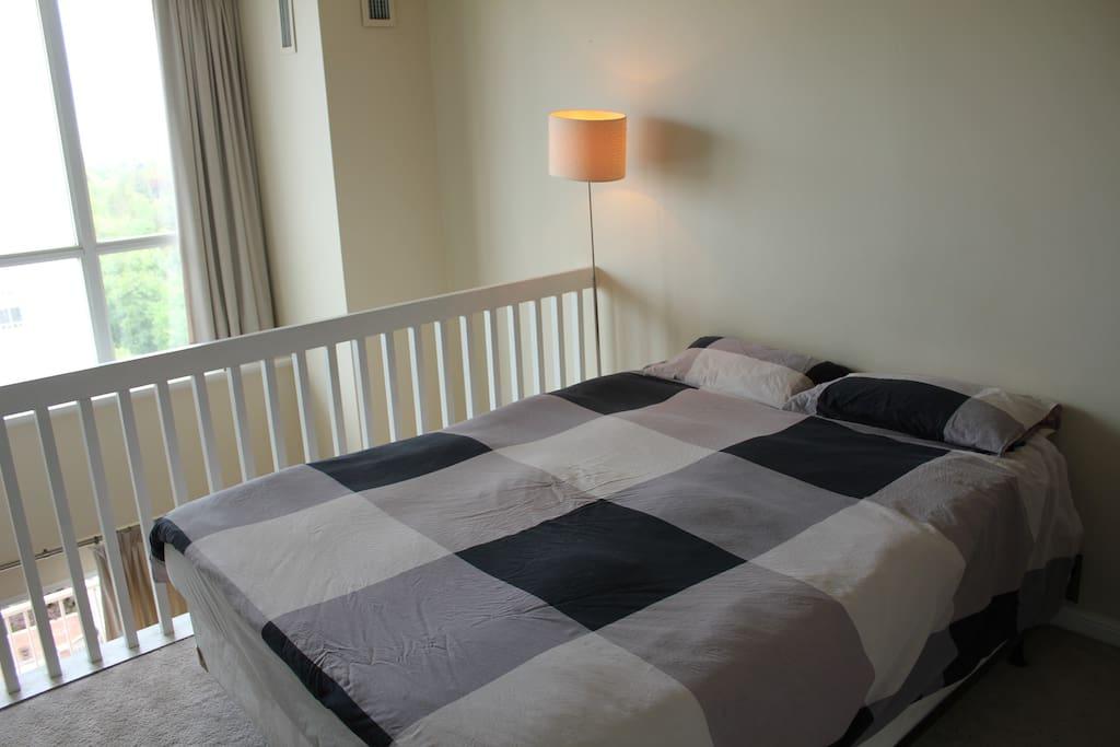 Master bedroom upper floor