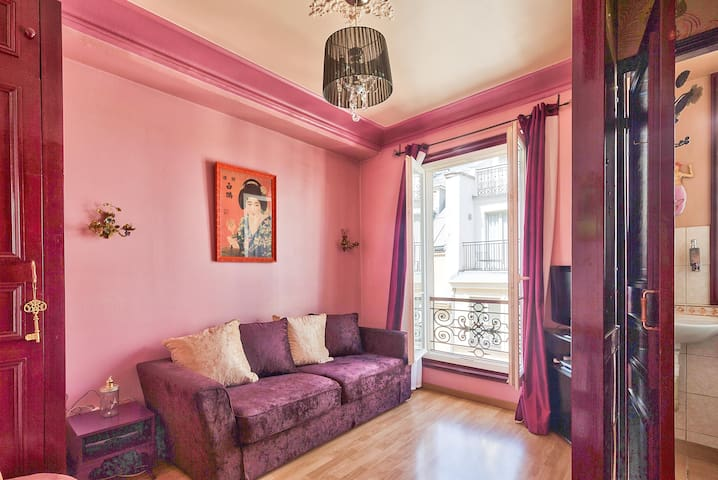 Purple Flat, Puuurple Flat In ❤️ Of Downtown Paris