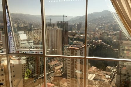 Comfortable room and the best view of La Paz - La Paz