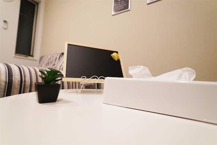 中野天鹅堡Swan Home 201——直达新宿、三鹰美术馆(10月一時休業)