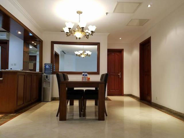 Spacious 2 BR Apt Pool View at SCBD Jakarta