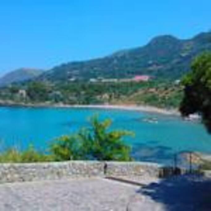 Vista su baia Mazzaforno