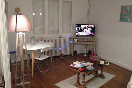 Chambre à Chauvigny city - Chauvigny - Huoneisto