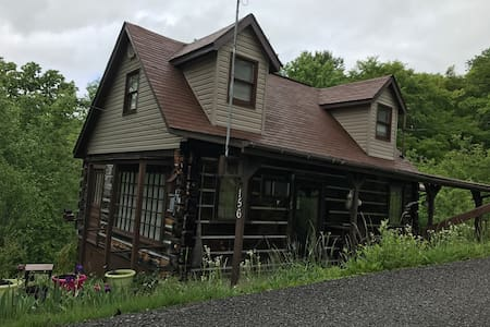 Quaint Log Cabin Home in Hazard