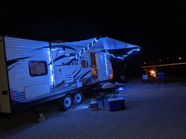 Rv ing on the Cape