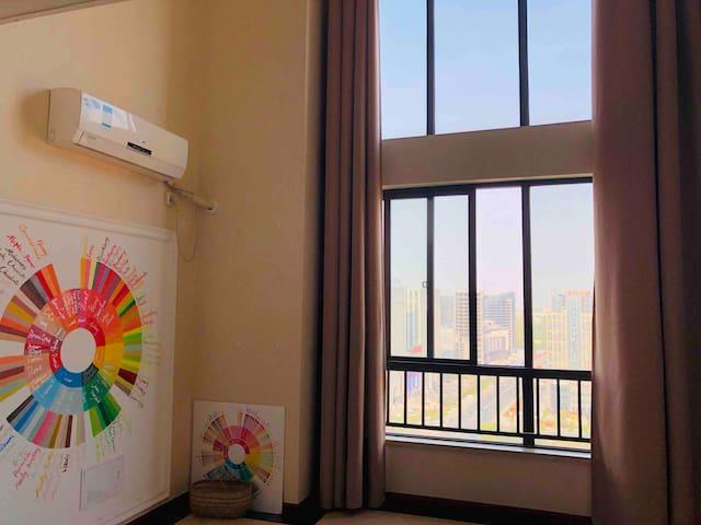那家咖啡小屋~新万达旁高端loft