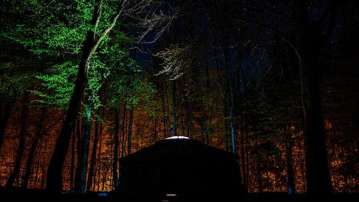 Yourte au camping municipal de Senones