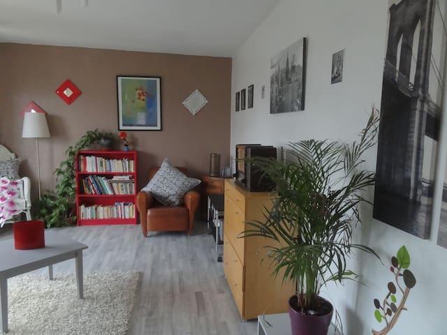 Coquet F1 proche Genève, lac et tram - Gaillard - Apartamento