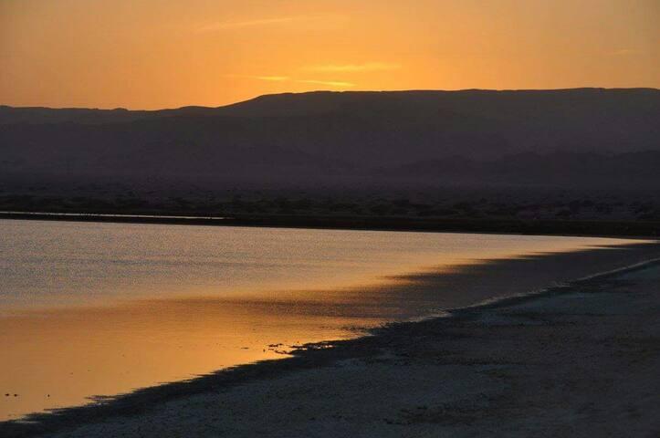 שקיעה בים האדום Red Sea sunset