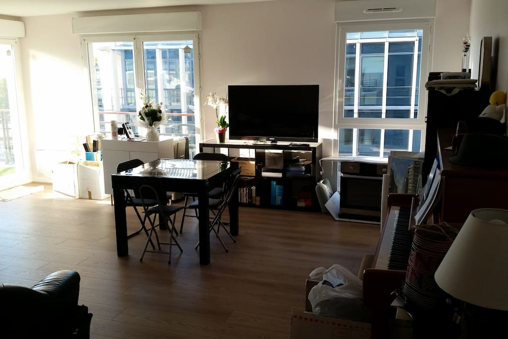Our big welcoming living room