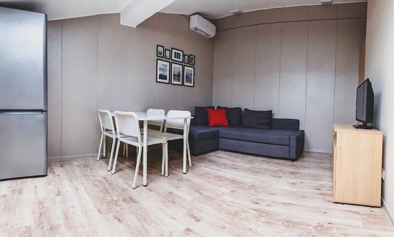 Уютная студия на 5 этаже