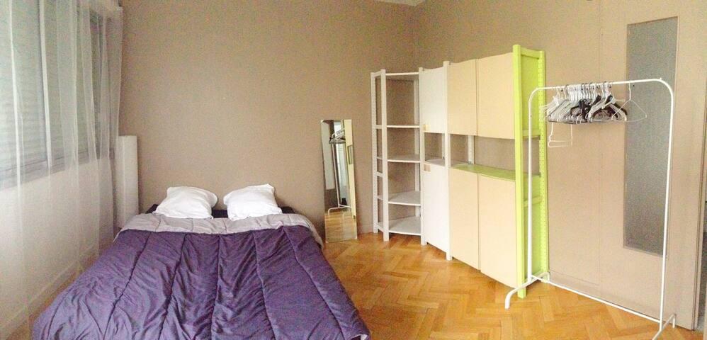 CHAMBRE SPACIEUSE PROCHE SANS SOUCI - Lyon - Apartamento