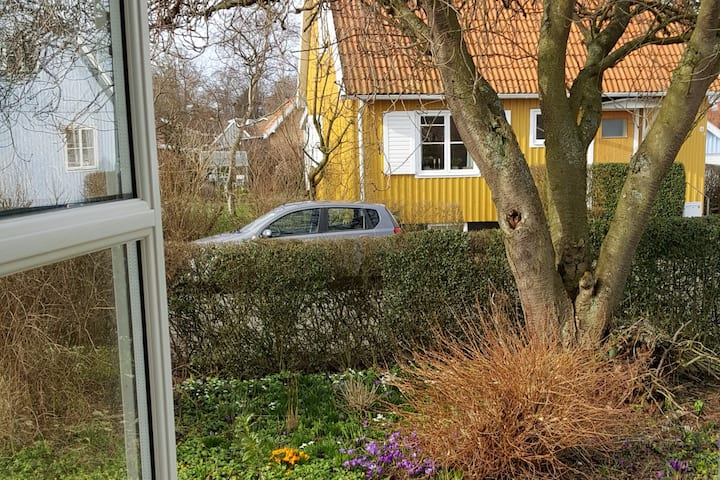 Svensk træhus i Rønne