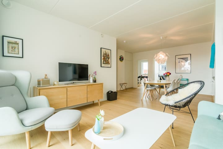 Brand new apartment 5 min from city