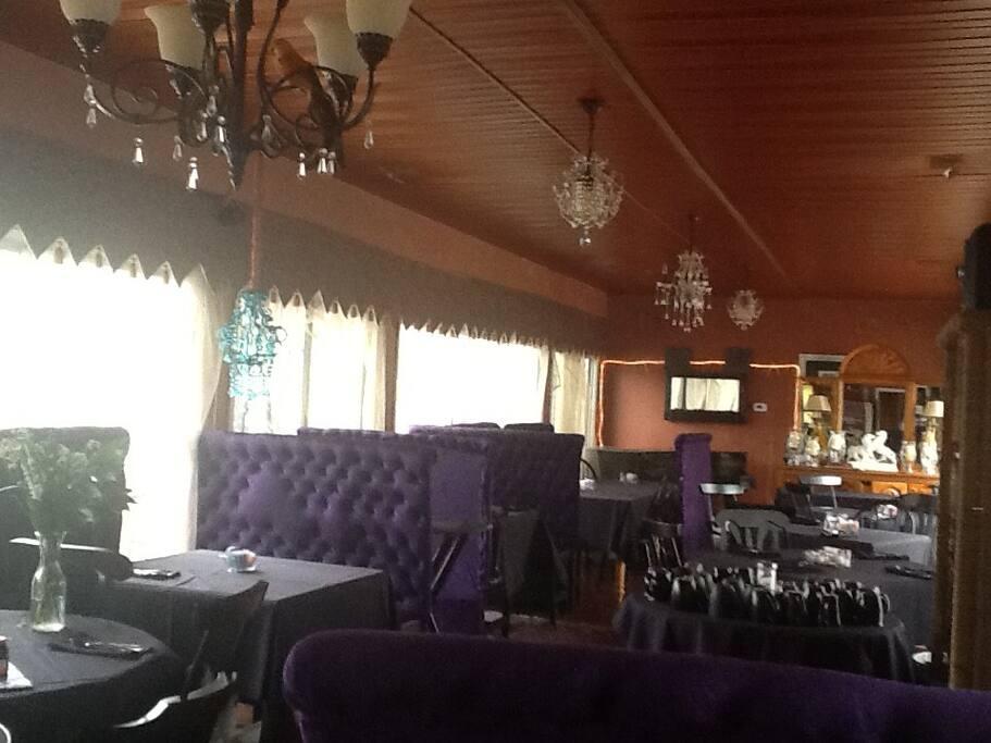 The Club Car Dining Room