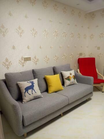 客厅的沙发~以及躺椅~