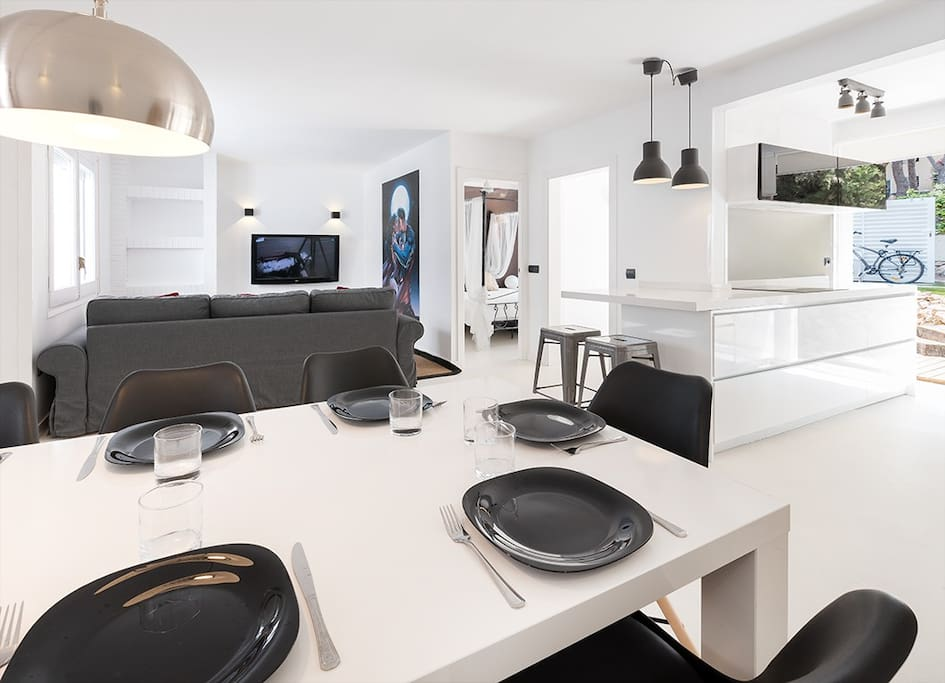 Salón-comedor-cocina