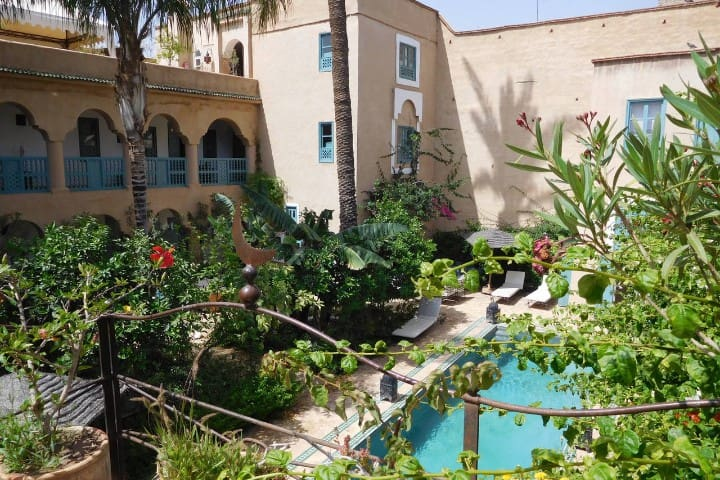 Palais Oumensour Riad  dans la médina de Taroudant - Aït Melloul - Pensió