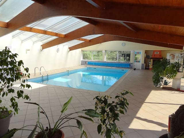 Beautiful Gite with Indoor Pool