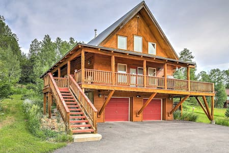 Alpine Home w/Deck, Grill and Star Valley Views!