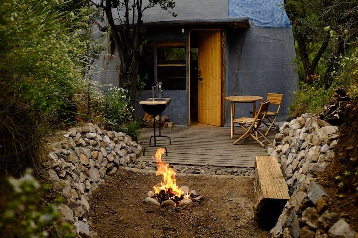 El Arca Azul, Cabaña Ecológica