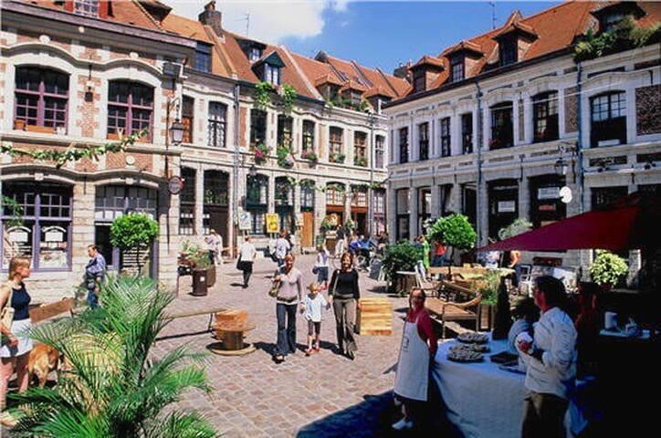 Duplex au coeur du vieux Lille
