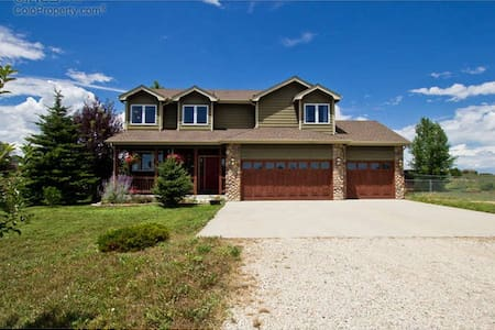 Beautiful 6 acre farm close to town - Berthoud - Huis