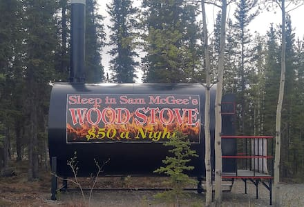 Alaskan Stoves Genuine Wood Stove 'Cabin'
