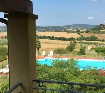 Cozy apartment in tuscany - Farsiche - Haus