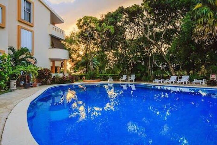 Apartment front Reef - Playacar