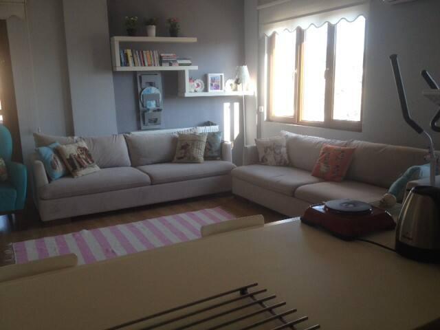 Villa/Apartment with Sea and Greek island KOS wiev